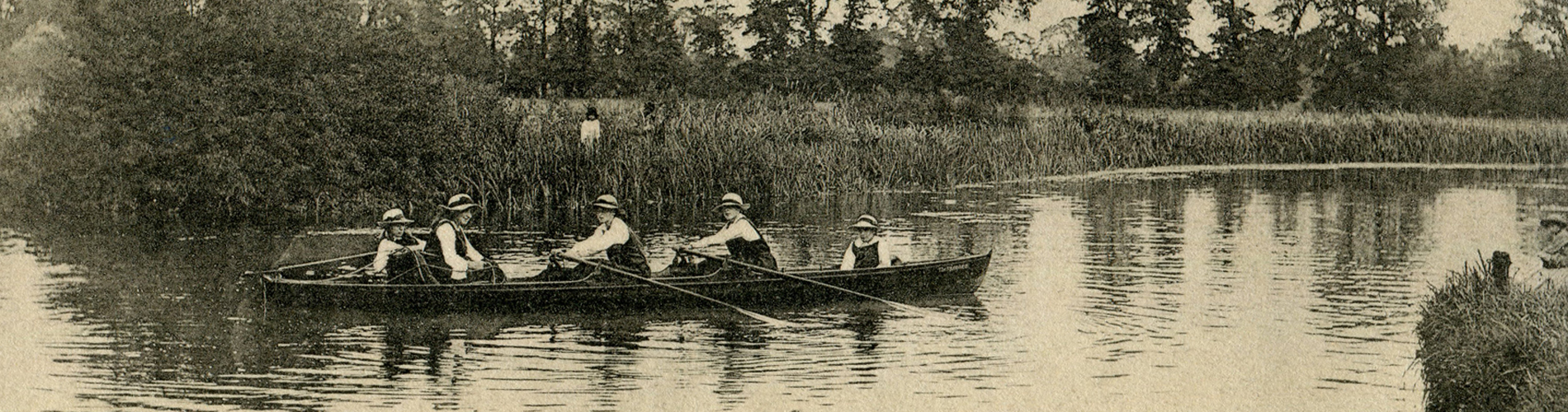 School Boat on the Cherwell